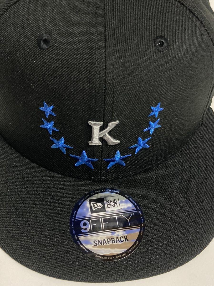 2019年限定 神里和毅 横浜DeNAベイスターズ 神里 NEW ERA (ニューエラ) 9FIFTY キャップ 帽子 フリーサイズFREE大洋ホエールズ950BLACK黒_画像2