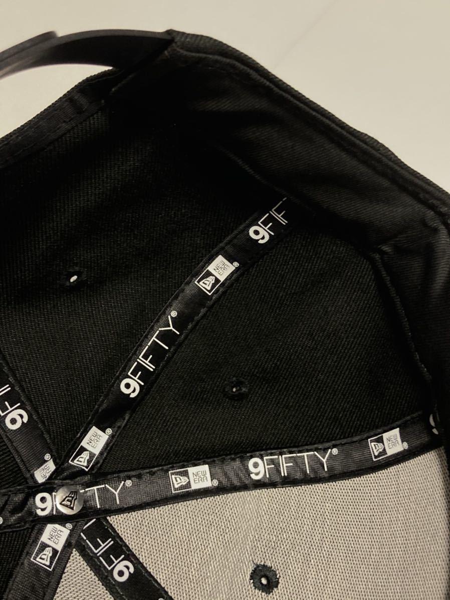 2019年限定 神里和毅 横浜DeNAベイスターズ 神里 NEW ERA (ニューエラ) 9FIFTY キャップ 帽子 フリーサイズFREE大洋ホエールズ950BLACK黒_画像10