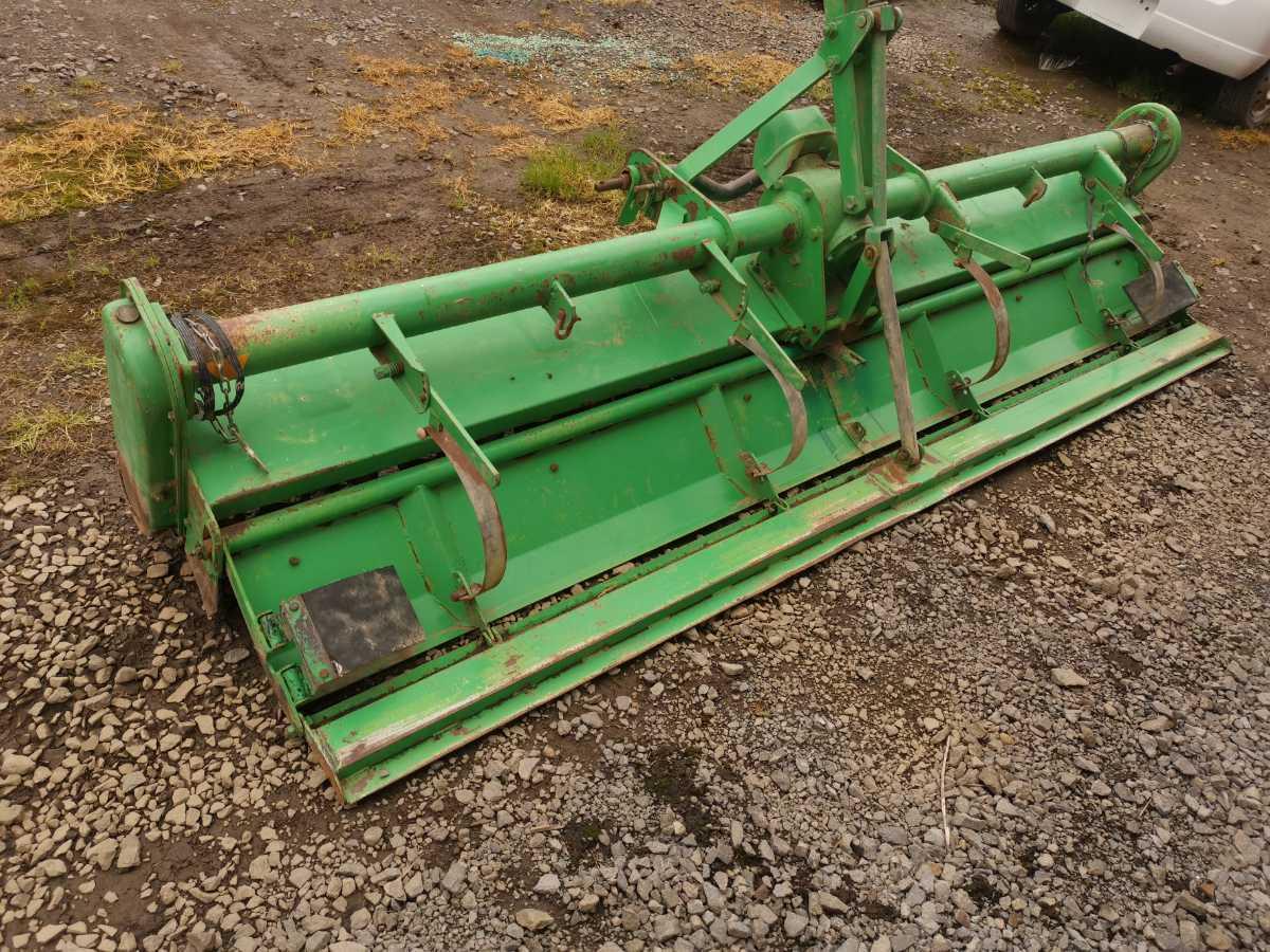 イシカリ 代掻きロータリー ドライブハロー 農業 農家 トラクター 北海道札幌近郊より_画像3
