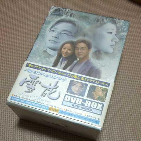 全4巻セット DVD 雪花 snow flower パク・ヨンハ ユンソナ キム・サンギョン 韓流ドラマ 韓国 DVD-BOX _画像1