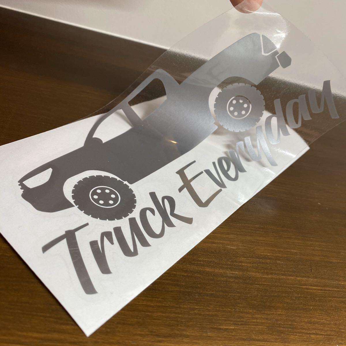 Truck Everyday ハイラックス ステッカー_画像2