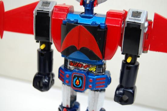 当時物 ポピー 惑星ロボ ダンガードA 超合金 GA-79 サテライザー 玩具 DELUXE レトロ 札幌発_画像4