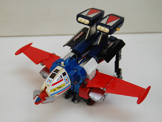 当時物 ポピー 惑星ロボ ダンガードA 超合金 GA-79 サテライザー 玩具 DELUXE レトロ 札幌発_画像7