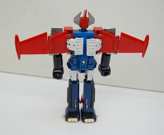 当時物 ポピー 惑星ロボ ダンガードA 超合金 GA-79 サテライザー 玩具 DELUXE レトロ 札幌発_画像6