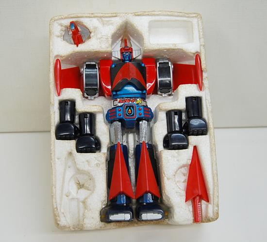 当時物 ポピー 惑星ロボ ダンガードA 超合金 GA-79 サテライザー 玩具 DELUXE レトロ 札幌発_画像2