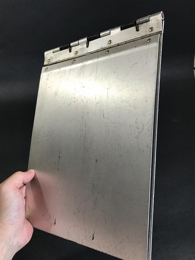 1940's ビンテージ アルミ製バインダー/ライト/ファイル/o.c.white/gras/店舗什器/デスク/椅子/アンティーク/照明/ランプ/工業系/レジ/看板_画像3