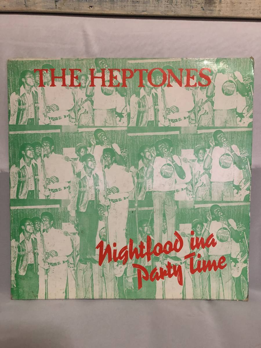 76. Roots . LP ★ The Heptones - Night Food In A Party Time_画像1