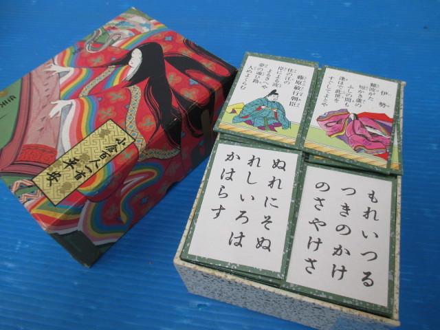 【中古】 ★ 任天堂 ★ 百人一首 平安 全日本かるた協会 選定 古典 国語 歴史 文化 学習 教材 カードゲーム