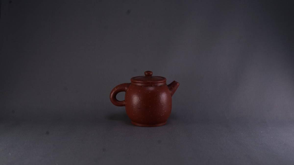 唐物 朱泥 急須 煎茶道具 中国古美術 古玩 中国アンティーク サイズ:10.3*7.3cm