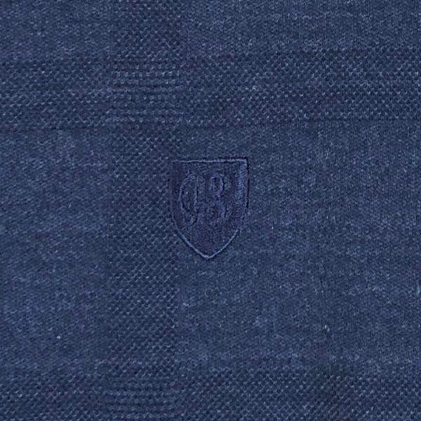 送料無料 ブラックレーベルクレストブリッジ シャドーチェック Tシャツ メンズ 男性用 L ネイビー 紺 半袖シャツ BLACK LABEL CRESTBRIDGE_画像3
