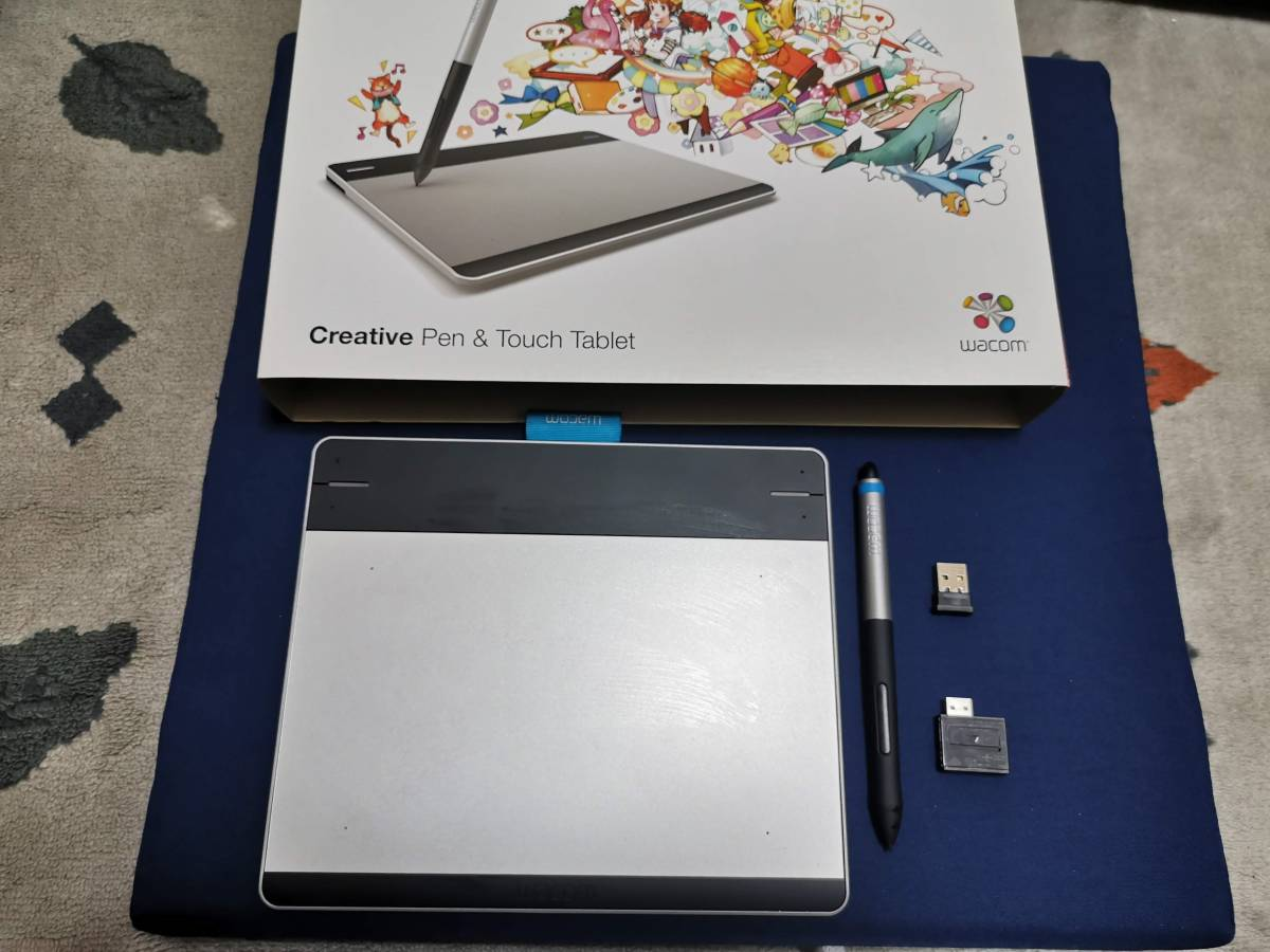 wacom Intuos Pen & Touch small Sサイズ CTH-480/S + ワイヤレスキット ACK-40401