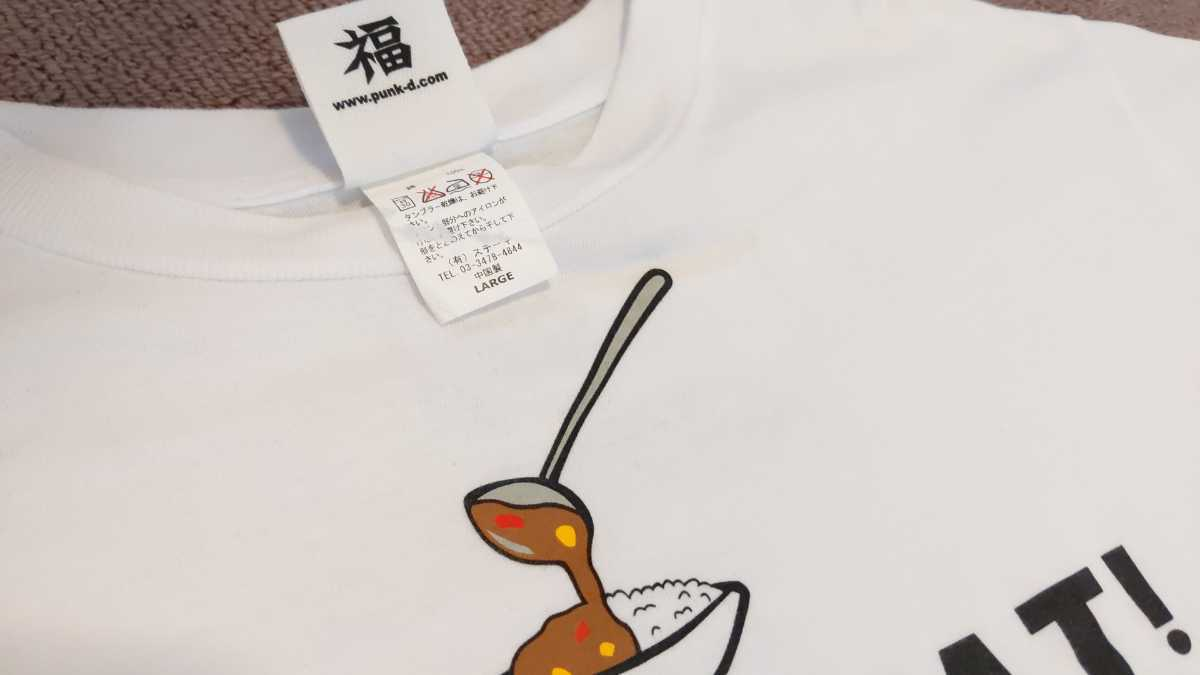 パンクドランカーズ punk drunkers カレクック Tシャツ キン肉マン Lサイズ KIN29 ショップ コラボ 限定 あいつ_画像5