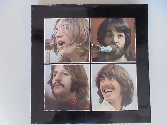Apple レコード The Beatles『 LET IT BE box with the book 』GET BACK 写真集付き 国内盤 東芝音工 初盤 極美品_画像1