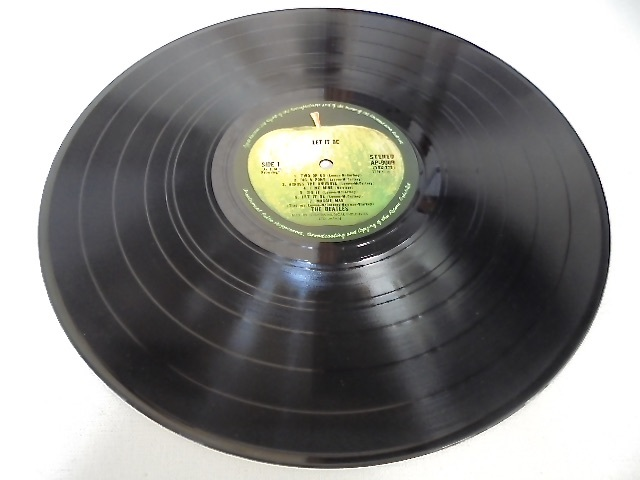 Apple レコード The Beatles『 LET IT BE box with the book 』GET BACK 写真集付き 国内盤 東芝音工 初盤 極美品_画像4