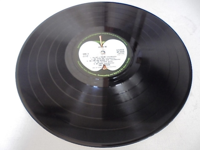 Apple レコード The Beatles『 LET IT BE box with the book 』GET BACK 写真集付き 国内盤 東芝音工 初盤 極美品_画像6