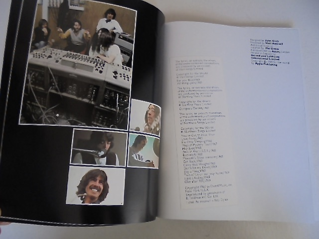 Apple レコード The Beatles『 LET IT BE box with the book 』GET BACK 写真集付き 国内盤 東芝音工 初盤 極美品_画像10