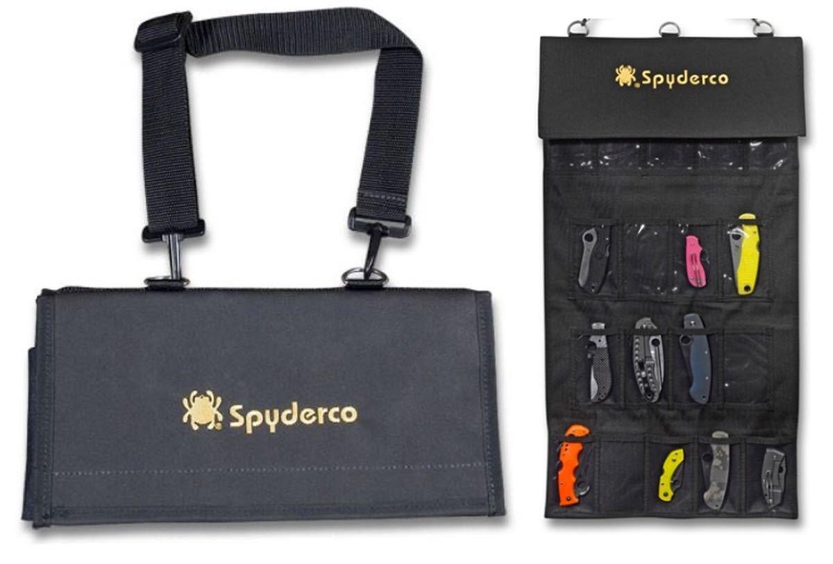 Spyderco スパイダルコ ナイフ収納ケース SpyderPac