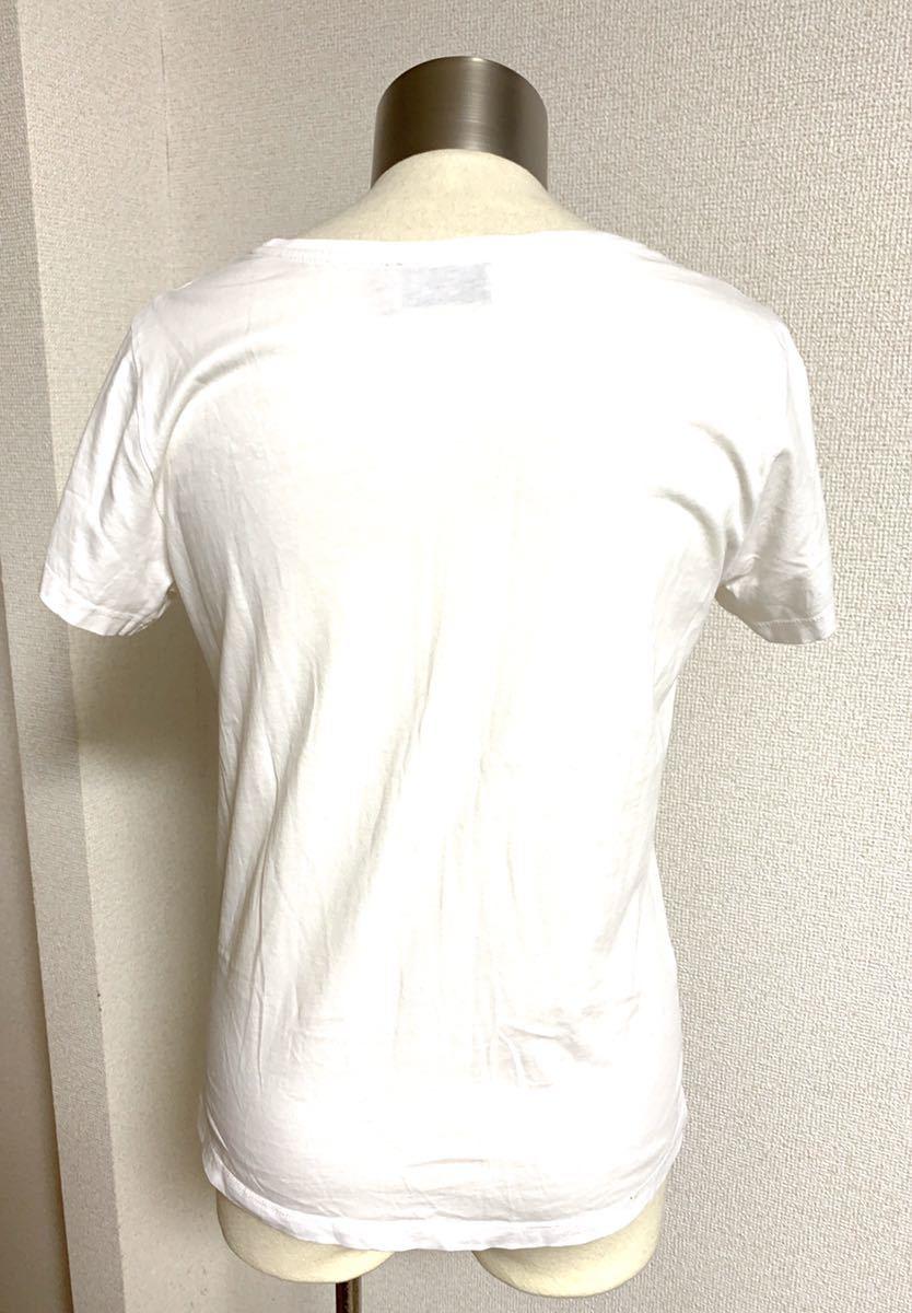メゾンキツネ 定番 ロゴ 半袖 Tシャツ S PALAIS ROYAL ラッテ 2019SS maison kitsune ポーラン