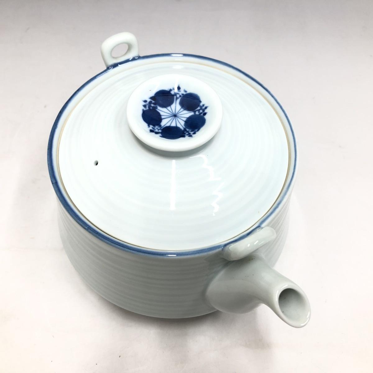 ②★ 有田焼 中島文山 御茶器 梅鉢 急須 湯呑 陶器 ★_画像6