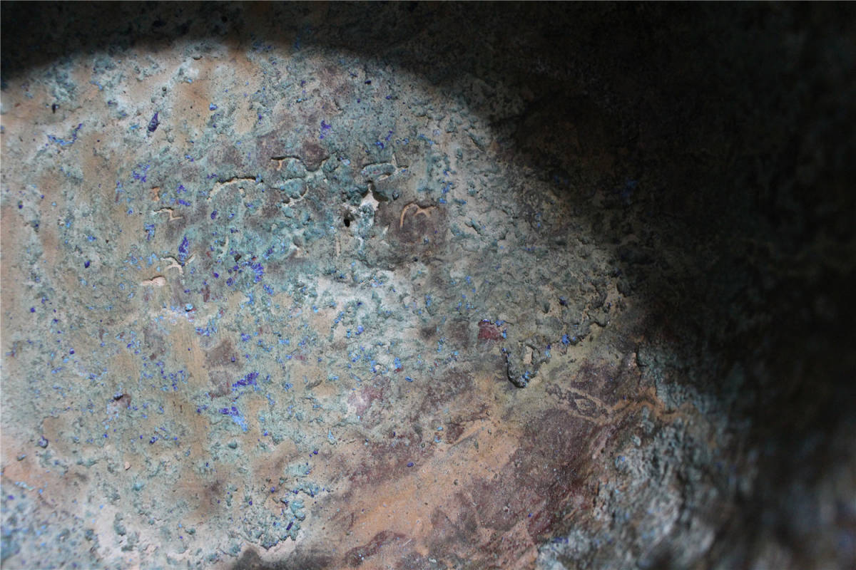 西漢時期 青銅器 銘文 蓋壷_画像9