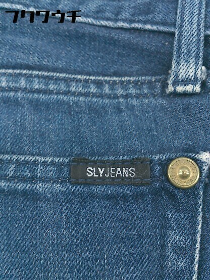 ◇ SLY jeans スライ ジーンズ デニム パンツ インディゴ レディース_画像3