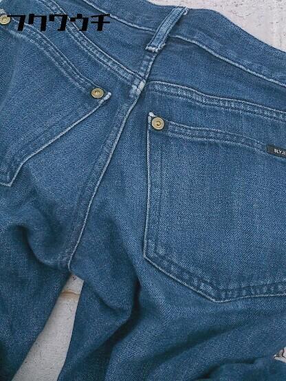 ◇ SLY jeans スライ ジーンズ デニム パンツ インディゴ レディース_画像5