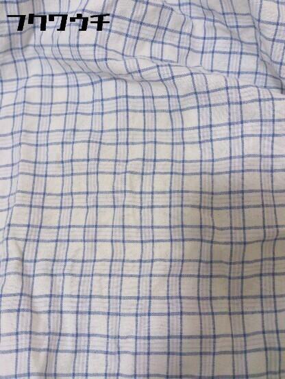 ◇ Ralph Lauren ラルフローレン 格子柄 ボタンダウン BD 半袖 シャツ サイズL ブルー メンズ_画像3