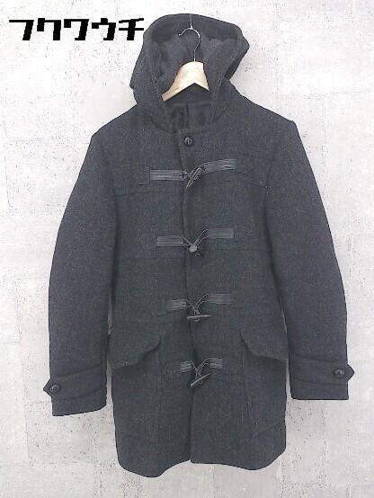 ■ 5351 POUR LES HOMMES トグル 中綿 ダッフル コート サイズ2 チャコールグレー メンズ_画像1