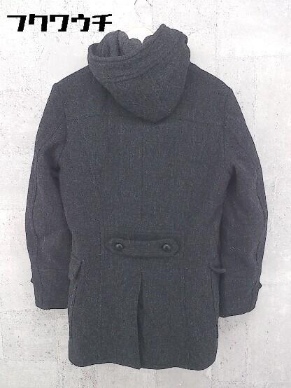 ■ 5351 POUR LES HOMMES トグル 中綿 ダッフル コート サイズ2 チャコールグレー メンズ_画像2