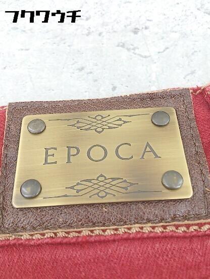 ◇ EPOCA エポカ ブーツカット ジーンズ デニム パンツ 38 レッド * 1002800050949_画像4