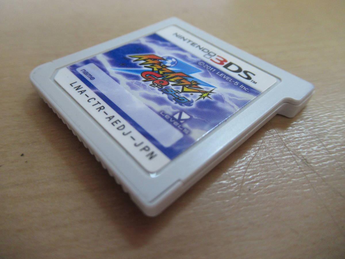 ゲームソフト イナズマイレブンGO ダーク Nintendo 3DS レベルファイブ LNA-CTR-AEDJ-JPN