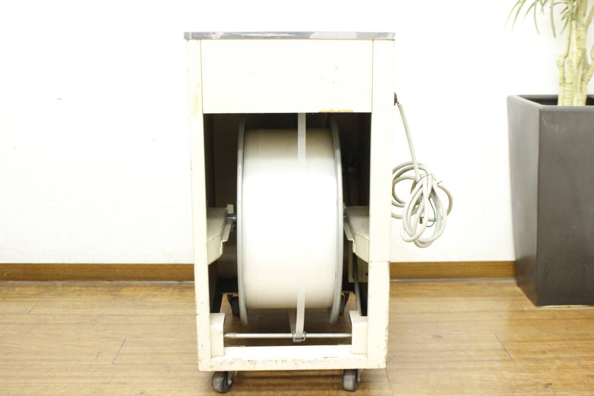 【引取限定/福岡市博多区】現状品 ナイガイ band-A-matic F20J2 半自動梱包機 バンド機 100V バンド付き/荷造り/梱包_画像3