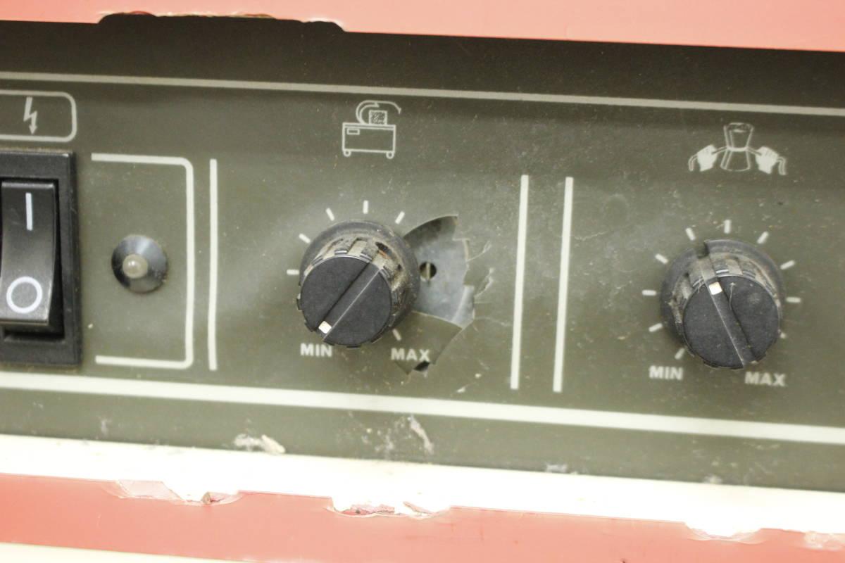 【引取限定/福岡市博多区】現状品 ナイガイ band-A-matic F20J2 半自動梱包機 バンド機 100V バンド付き/荷造り/梱包_画像8
