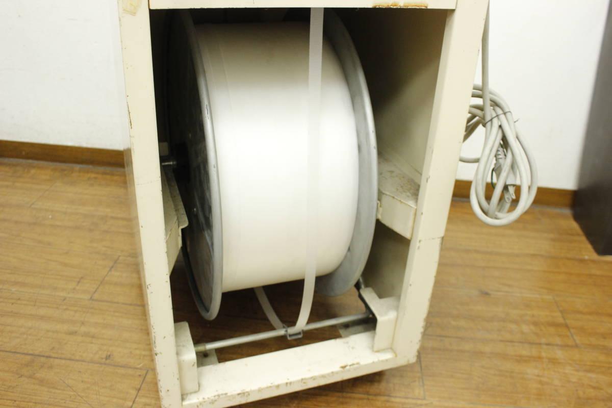 【引取限定/福岡市博多区】現状品 ナイガイ band-A-matic F20J2 半自動梱包機 バンド機 100V バンド付き/荷造り/梱包_画像9