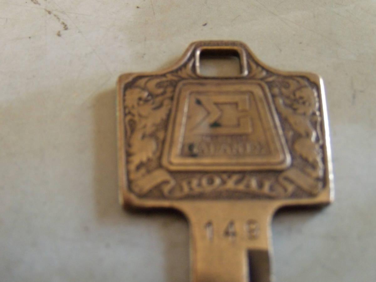 旧車、三菱、シグマ、鍵、キー、レトロ、アンティーク、ビンテージ、レア物、昭和の時代、キーホルダー、インテリア、古い鍵、_画像3