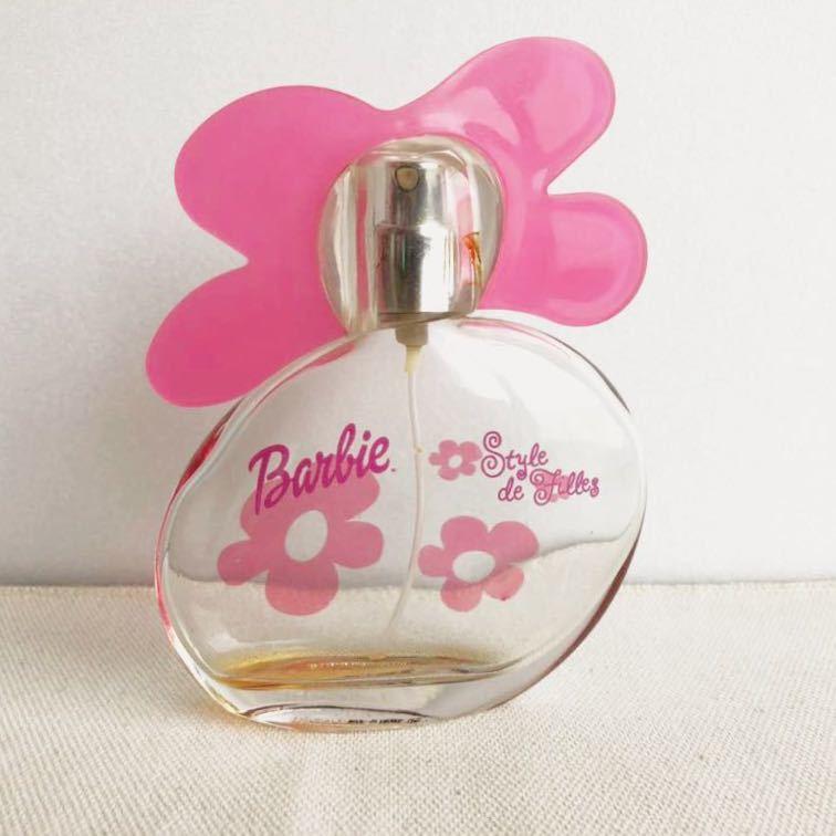 バービー オードトワレ スタイルドフィーユ 75ml 空きボトル Barbie style de filles 香水 オードパルファム 空き瓶 コレクション 香水瓶_画像1