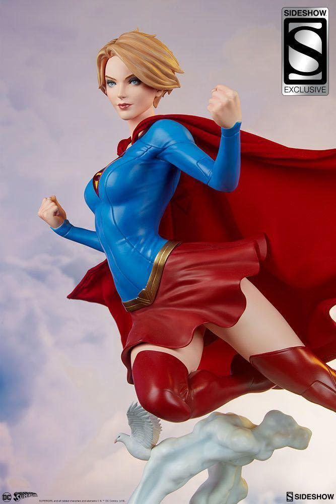 SIDESHOW サイドショウ プレミアムフォーマット DCコミックス スーパーガール by スタンリー・ラウ サイドショウ 限定版 検 ホットトイズ