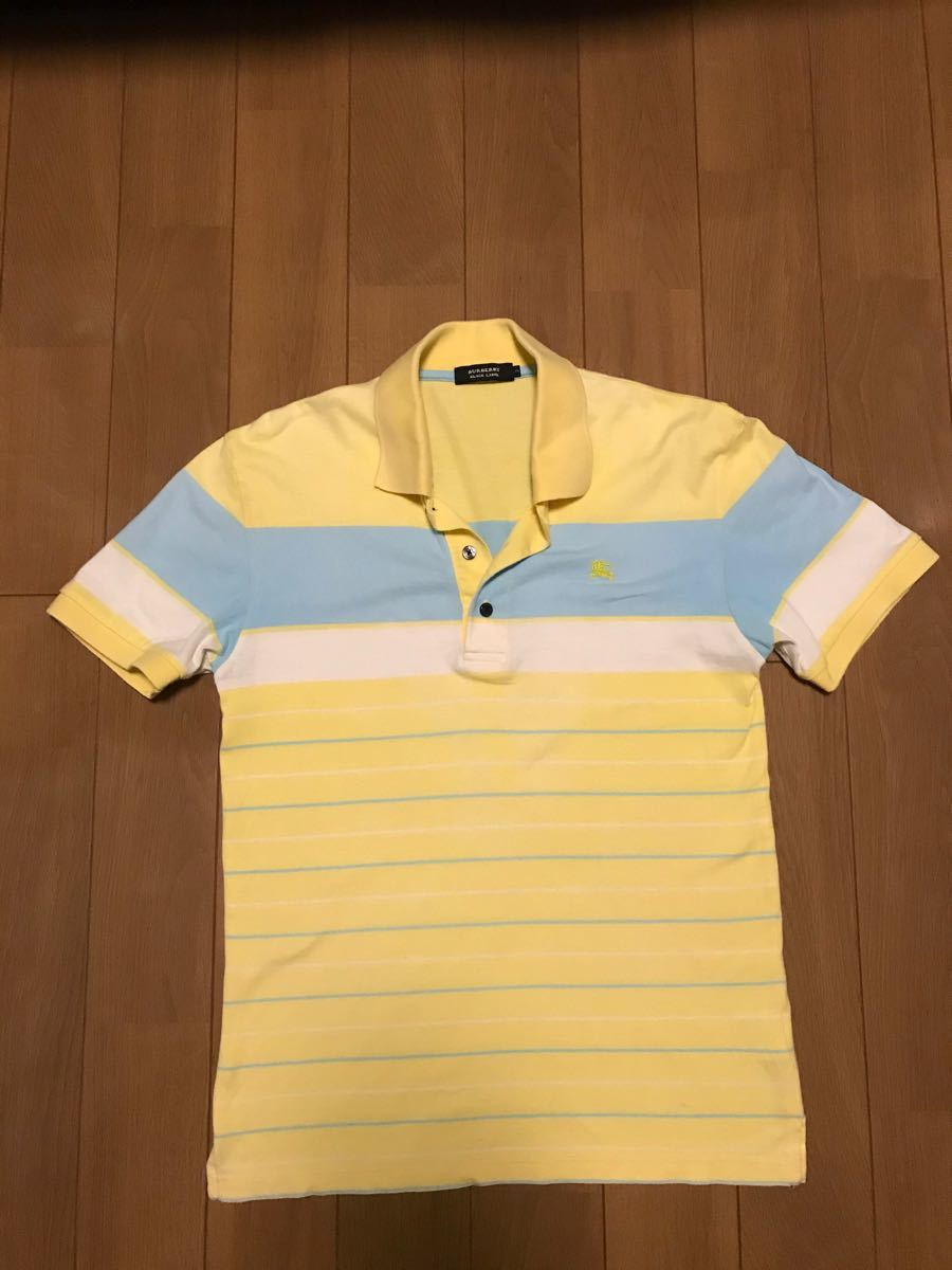 BURBERRY (バーバリー)  ブラックレーベルポロシャツ 半袖