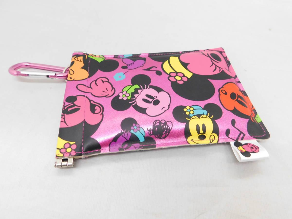 ☆05-40 ディズニー腕時計2個 置き時計 パスケース グッズセット ミッキー&ミニー Disney_画像10