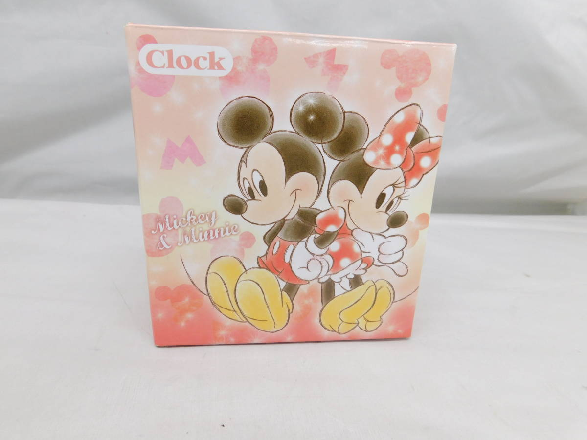 ☆05-40 ディズニー腕時計2個 置き時計 パスケース グッズセット ミッキー&ミニー Disney_画像3