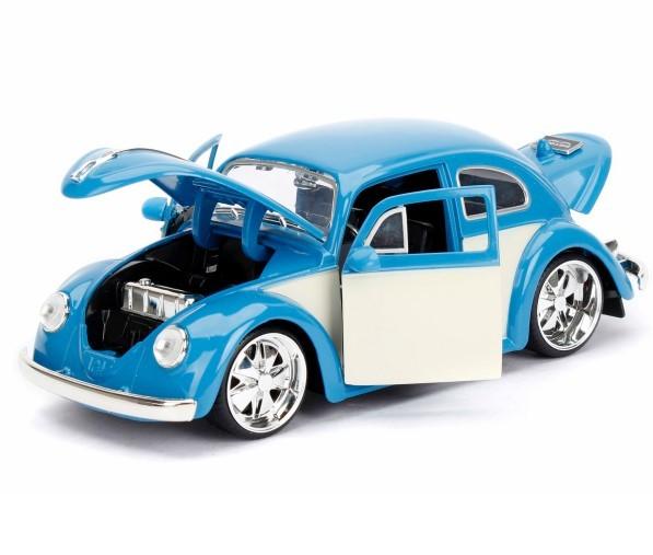 JADATOYS 1/24 BTK 1959 VW Beetle ミニカー ビートル BL_画像2