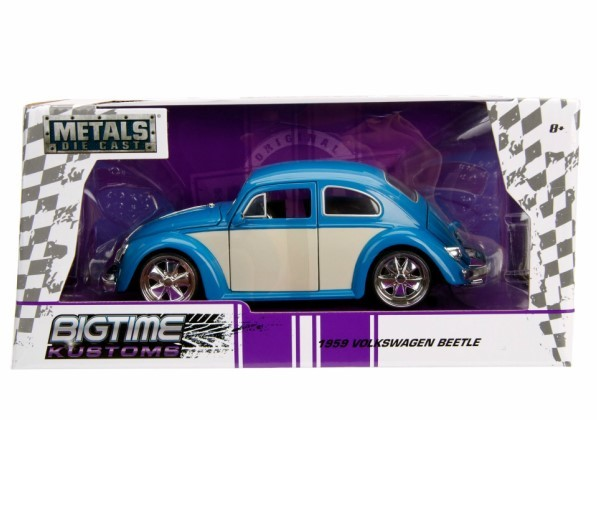 JADATOYS 1/24 BTK 1959 VW Beetle ミニカー ビートル BL_画像3