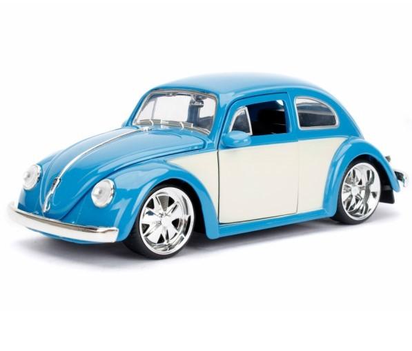JADATOYS 1/24 BTK 1959 VW Beetle ミニカー ビートル BL_画像1