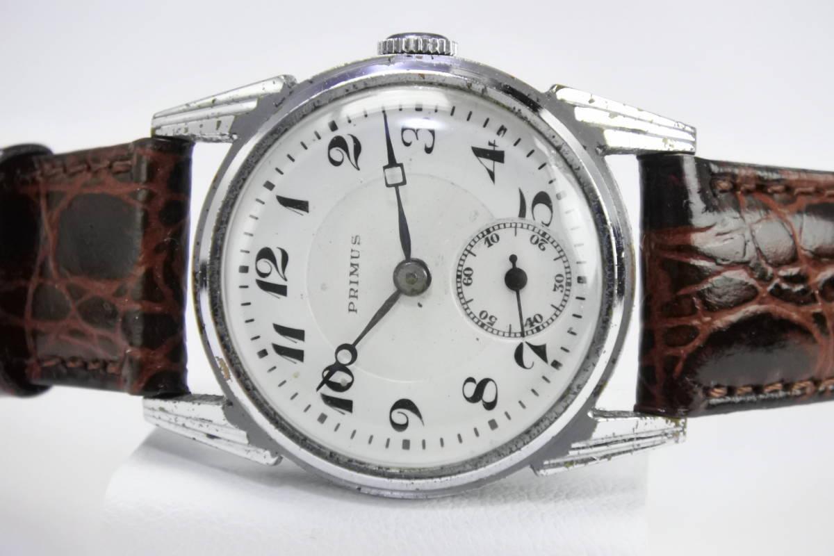 ☆1930~40年頃  可なり昔 PRIMUS  手巻紳士時計  アンティーク品_画像1