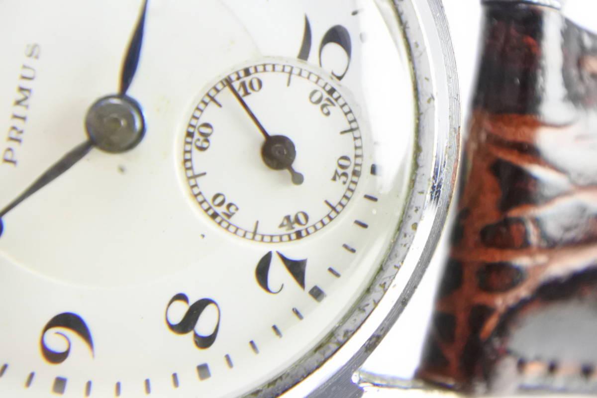 ☆1930~40年頃  可なり昔 PRIMUS  手巻紳士時計  アンティーク品_画像4