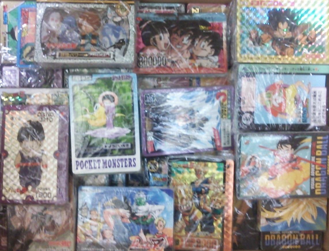 大量 まとめ売り カードダス ドラゴンボール スラムダンク ゲゲゲの鬼太郎 幽遊白書 るろうに剣心 ポケモン 当時もの バンダイ アマダ