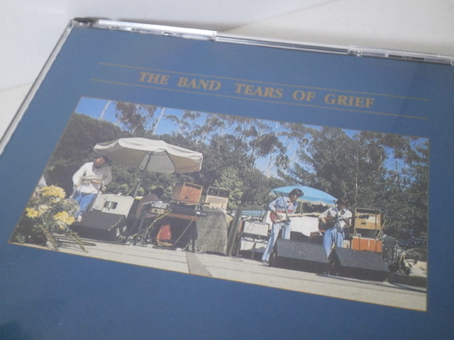 The Band / Tears Of Grief 日本盤 2CD Bootleg Live at Greek theatre LA 1976 ザ・バンド 送料込み