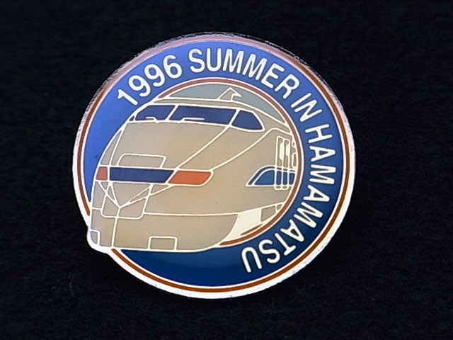 #7-3【JR東海】1996年 SUMMUR IN HAMAMATSU ピンバッジ_画像2