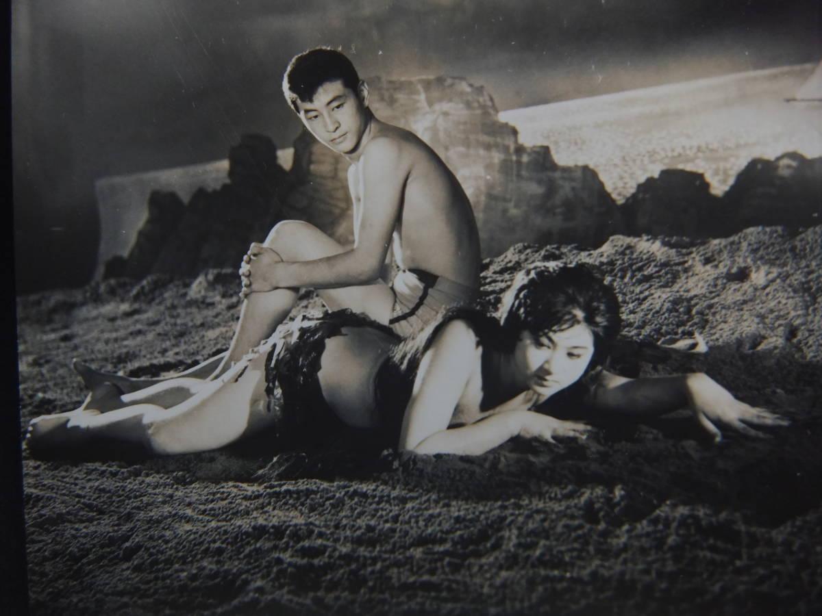 筑波久子/川地民夫【海底から来た女】スチール写真★_画像2