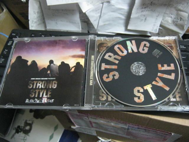 STRONG STYLE ストロングスタイル /去り行く今日に我在りて 帯付CD GANXTA CUE_画像2